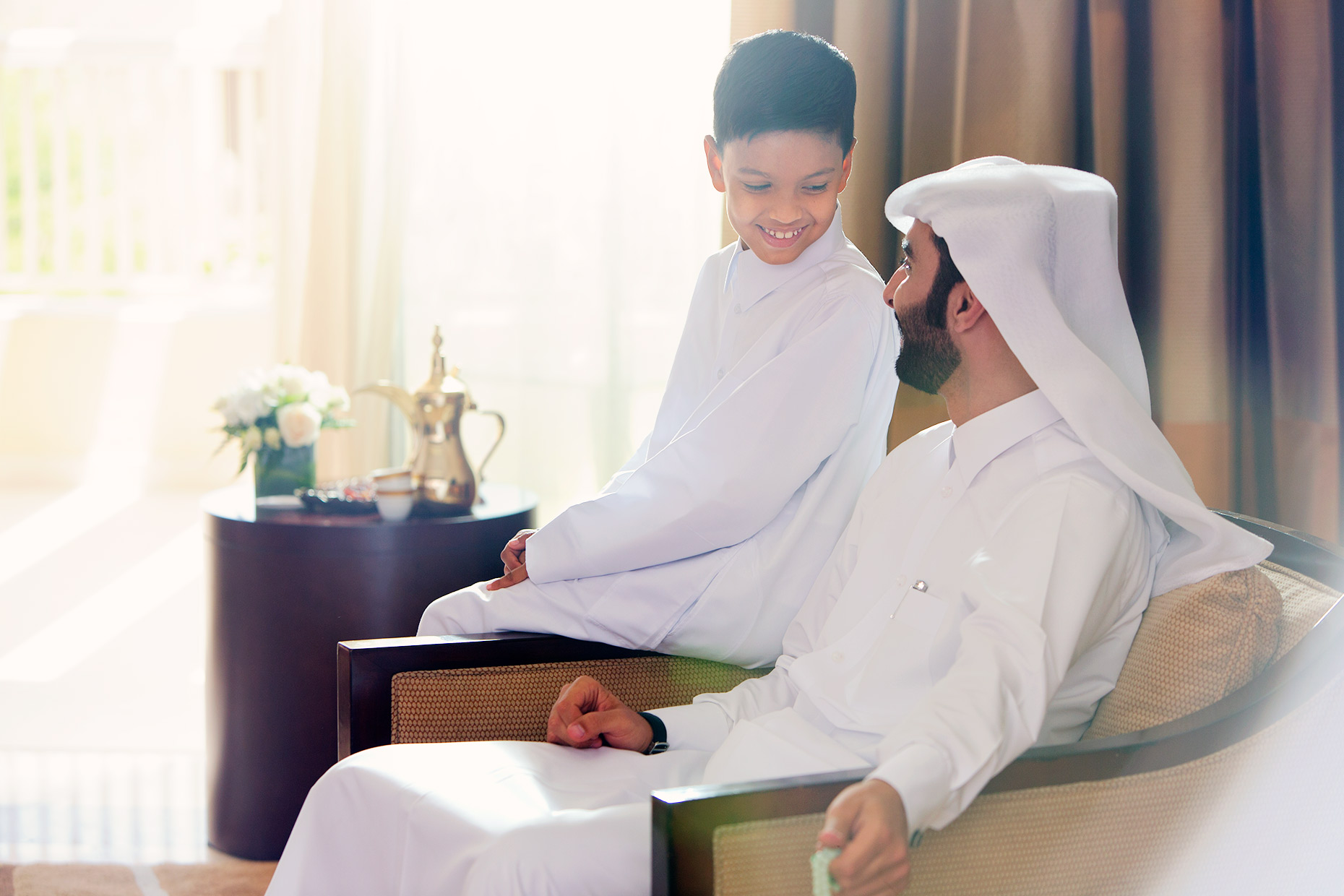 arab-father-and-son
